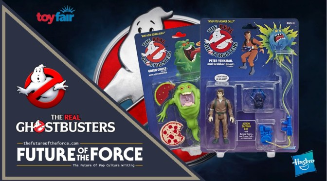 Hasbro To Re-Release the Original 'The Real Ghostbusters' Action Figures