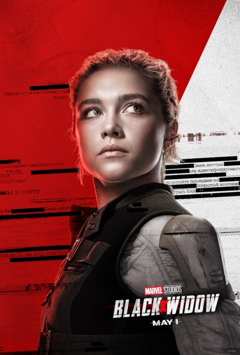 Black Widow Poster Florence Pugh