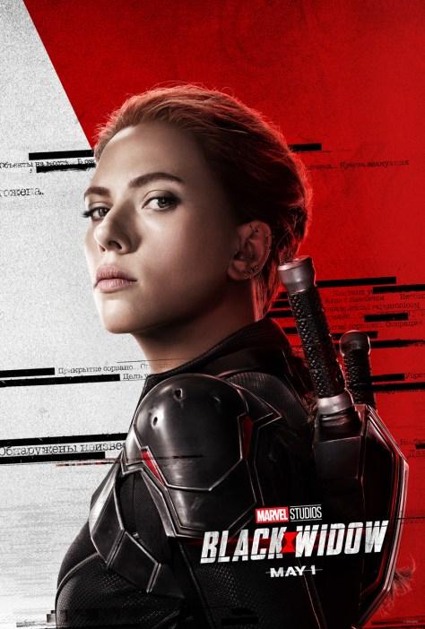 Black Widow Poster Scarlett Johansson