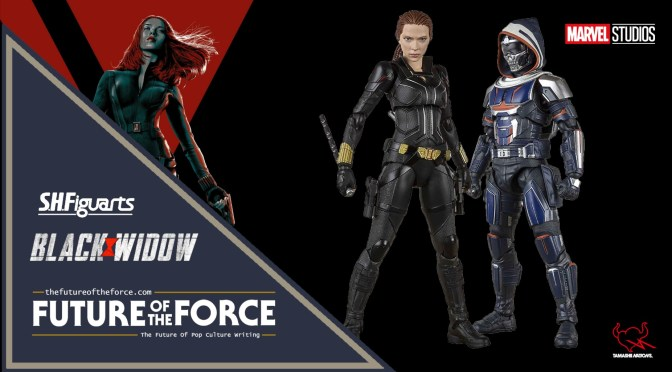 S.H. Figuarts Black Widow Movie Figures - First Look