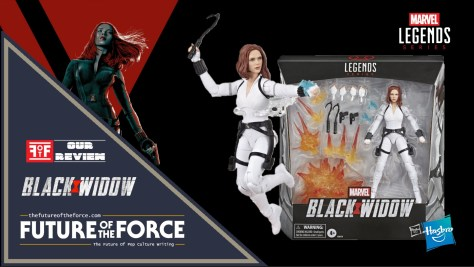 Marvel Legends Black Widow Deluxe Edition Review