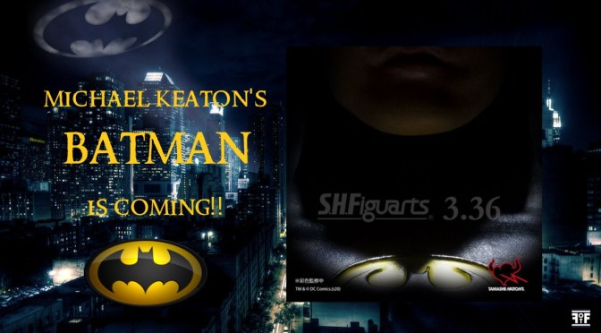 Rejoice Batman Fans! Michael Keaton's Batman is Coming to Tamashii's SHF Line