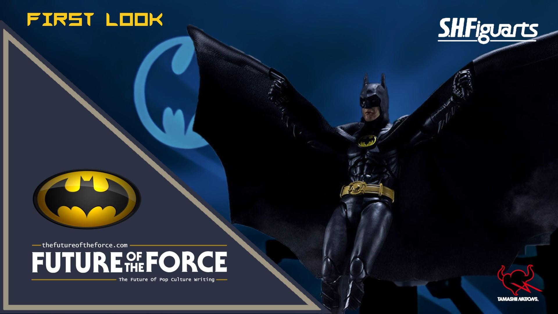 First Look S H Figuarts Batman Batman 1989 Bandai Limited Future Of The Force