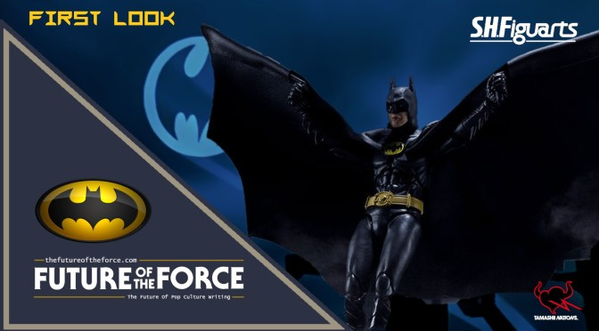 First Look | S.H.Figuarts Batman (BATMAN 1989) Bandai Limited