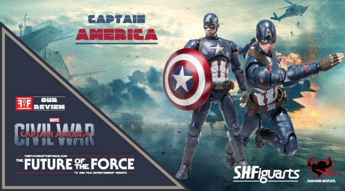 S.H. Figuarts Captain America Civil War Review