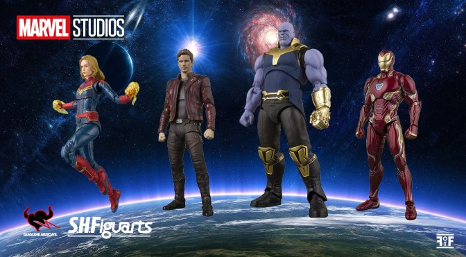 S.H. Figuarts To Re-Release Marvel Figures!