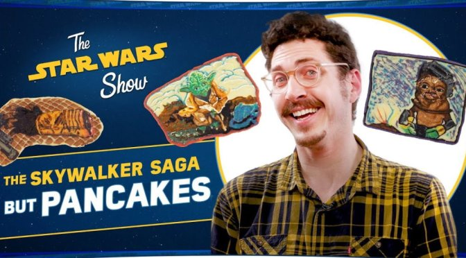 The Star Wars Show | The Skywalker Saga in Pancakes