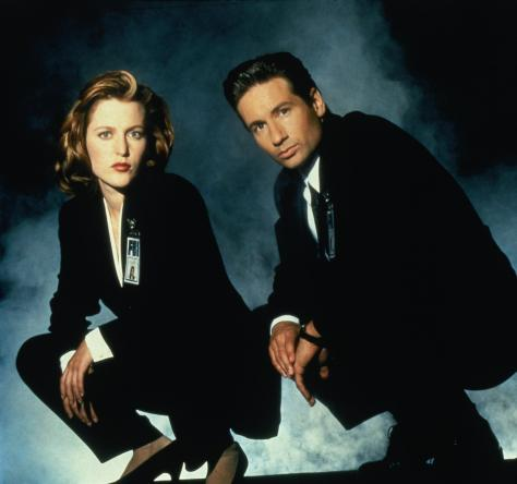Mulder and Scully - The X-Files