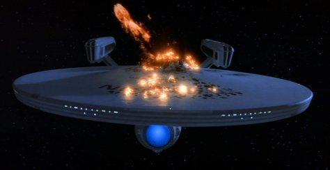 Star Trek III: The Search For Spock - Destruction Of The Enterprise