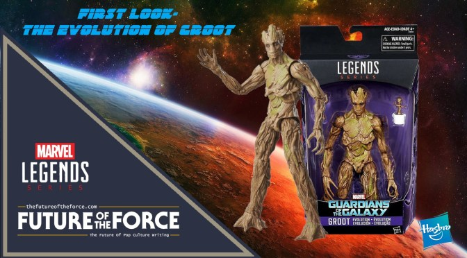 Marvel Legends | First Look At The Evolution Of Groot Set