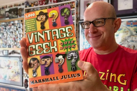 Marshall Julius Vintage Geek Quiz Book