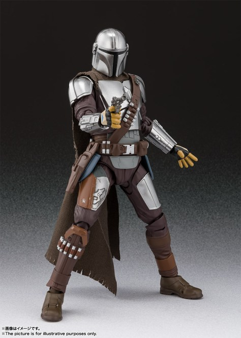 S.H. Figuarts Mandalorian Beskar Armor 002