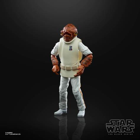 STAR WARS THE BLACK SERIES 6 INCH ADMIRAL ACKBAR Figure 002