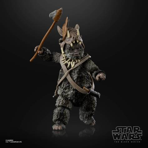 STAR WARS THE BLACK SERIES 6 INCH TEEBO EWOK Figure 001