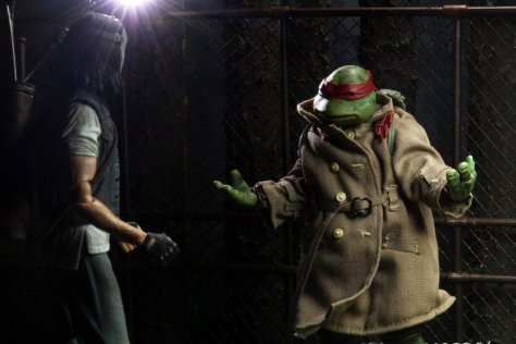 TMNT Casey Jones vs Raphael Set 002