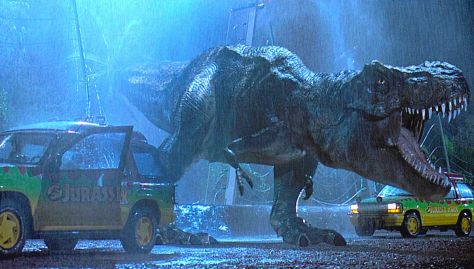 Tyrannosaurus Rex Rampage - Jurassic Park