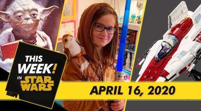 This Week! in Star Wars | LEGO A-Wing Starfighter Reveal, Star Wars: The Clone Wars Anthology Book Cover, and More!