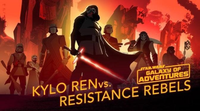 Star Wars: Galaxy of Adventures | Kylo Ren vs. Resistance Rebels