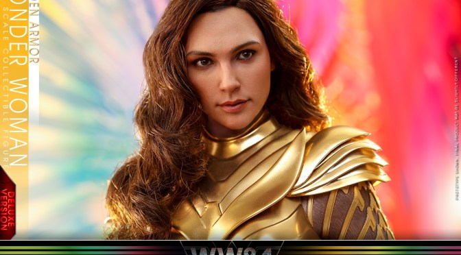 Hot Toys | First Look At Golden Armor Wonder Woman