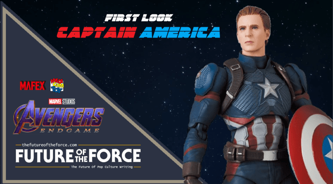 MAFEX | First Look At Captain America (Avengers Endgame)