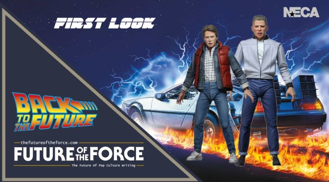 First Look | Back To The Future (NECA Toys) Action Figures