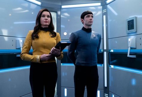 Star Trek Discovery - Number One and Spock