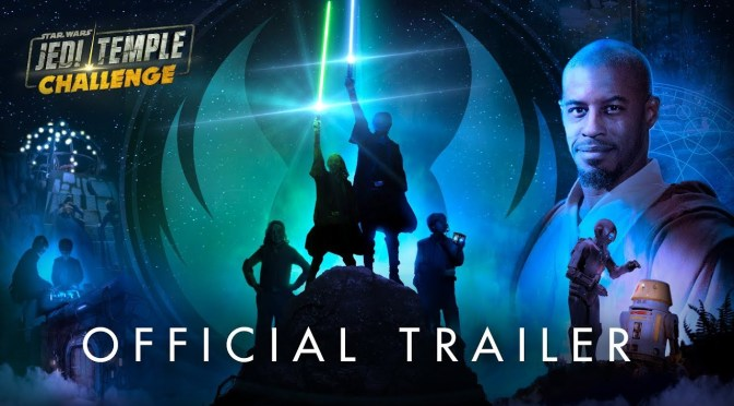 Ahmed Best Strikes Back In the Trailer for Star Wars: Jedi Temple Challenge