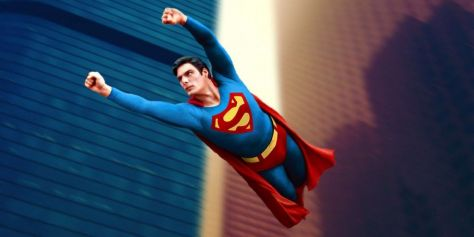 Superman The Movie Flying