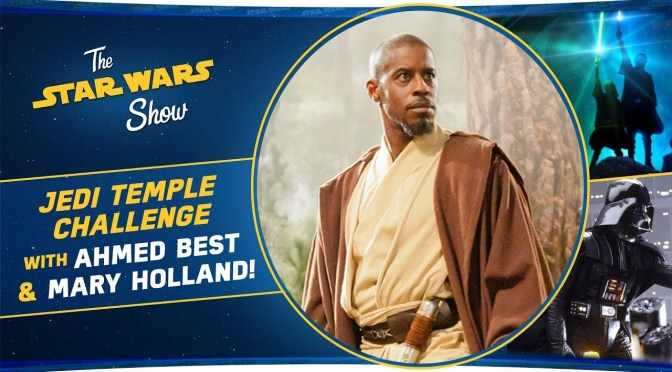 The Star Wars Show | Ahmed Best and Mary Holland Talk Jedi Temple Challenge, And We Celebrate The Empire Strikes Back!