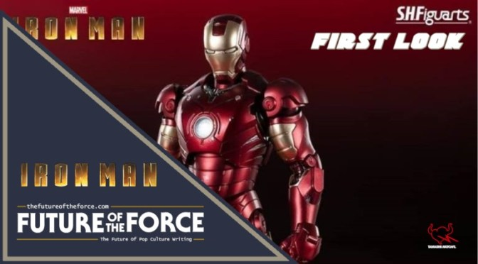 First Look at Iron Man MK-3 S.H. Figuarts