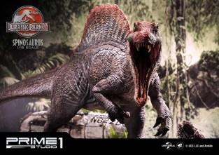 Jurassic Park 3 Spinosaurus Statue 012