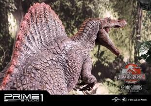 Jurassic Park 3 Spinosaurus Statue 015