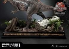 Jurassic Park 3 Spinosaurus Statue 029