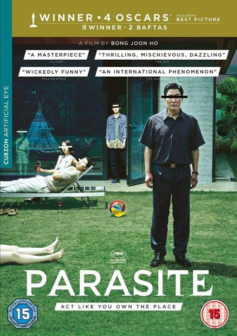 Parasite dvd