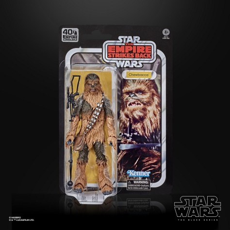 Star Wars The Black Series 40th Anniversary Chewbacca 001