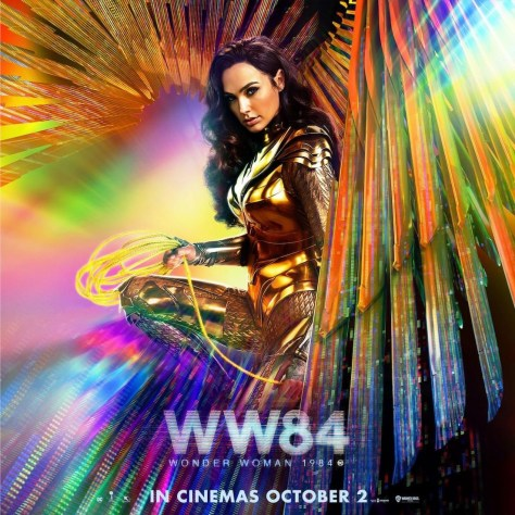 Warner Bros. Releases A Gorgeous New Poster For Wonder Woman 1984 | Future  of the Force