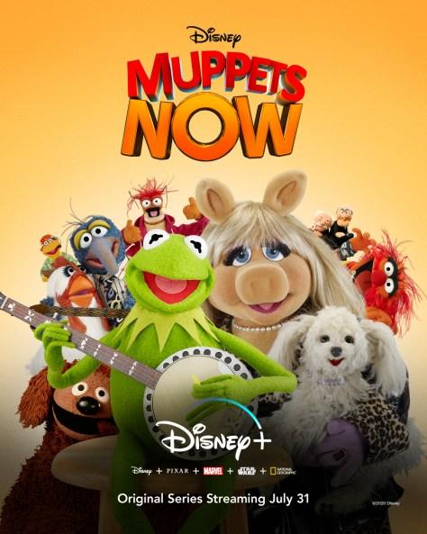 Muppets Now Key Art Disney Plus