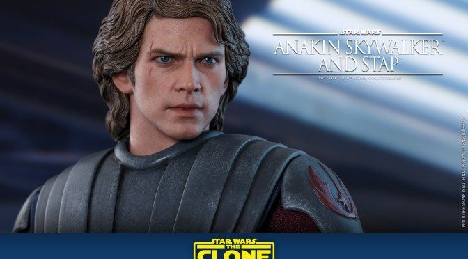 Hot Toys | First Look At Anakin Skywalker (Star Wars The Clone Wars)