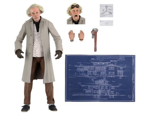 Back To The Future - Doc Brown (NECA)