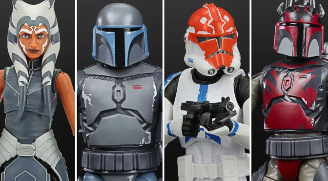 New Star Wars: The Clone Wars Black Series Figures Revealed