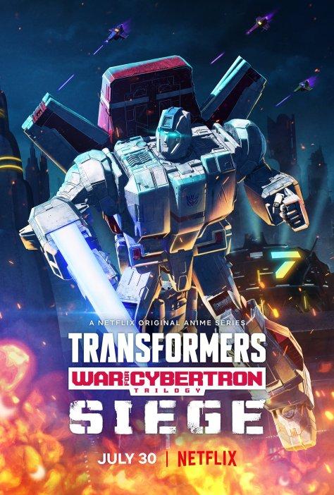 Transformers: War For Cybertron: Siege - Jetfire Poster