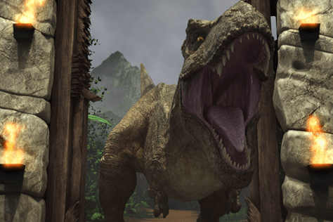 Jurassic World Camp Cretaceous - T-Rex