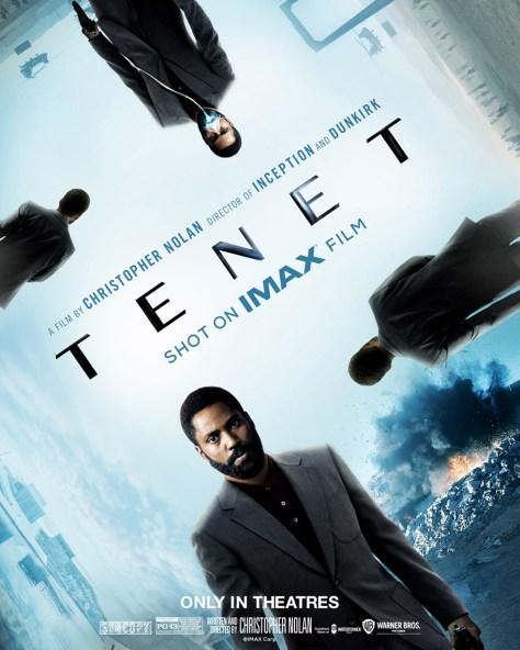 Tenet IMAX International Poster