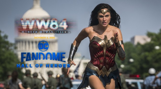 DC FanDome | Wonder Woman 1984 Panel & New Trailer