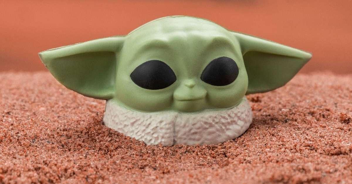 First Look | Baby Yoda Stress Ball (The Mandalorian)