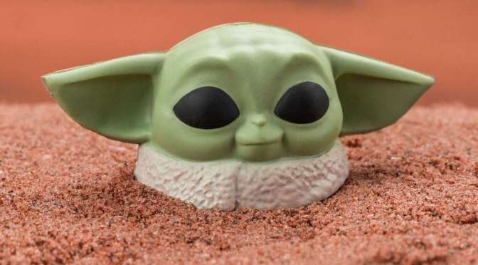 First Look | Baby Yoda Stress Ball (The Mandalorian)