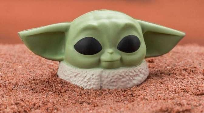 Baby Yoda Stress Ball 001