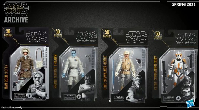 FIRST LOOK | New Black Series Figures Revealed At Hasbro Pulse Con!
