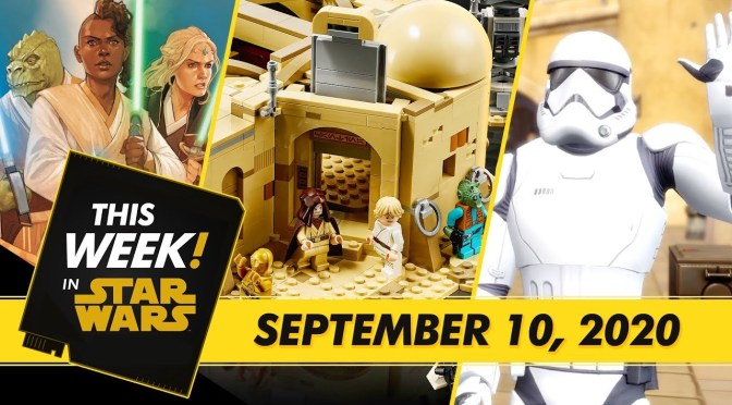 This Week! in Star Wars | Build the LEGO Mos Eisley Cantina, Look Inside Marvel's Star Wars: The High Republic Comic,and More!