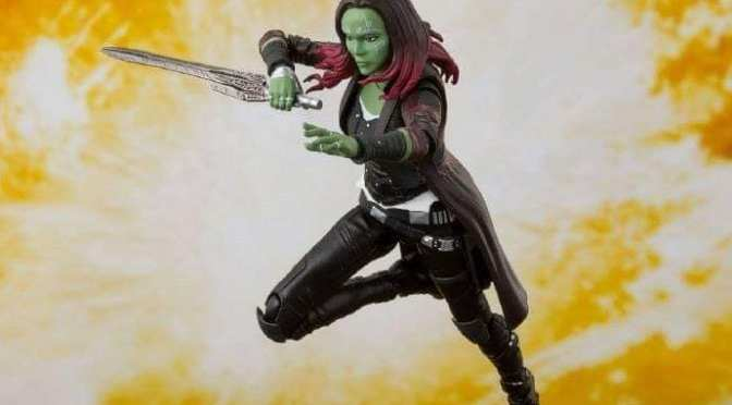 FIRST LOOK | S.H. Figuarts Reveals Their First Gamora Figure!